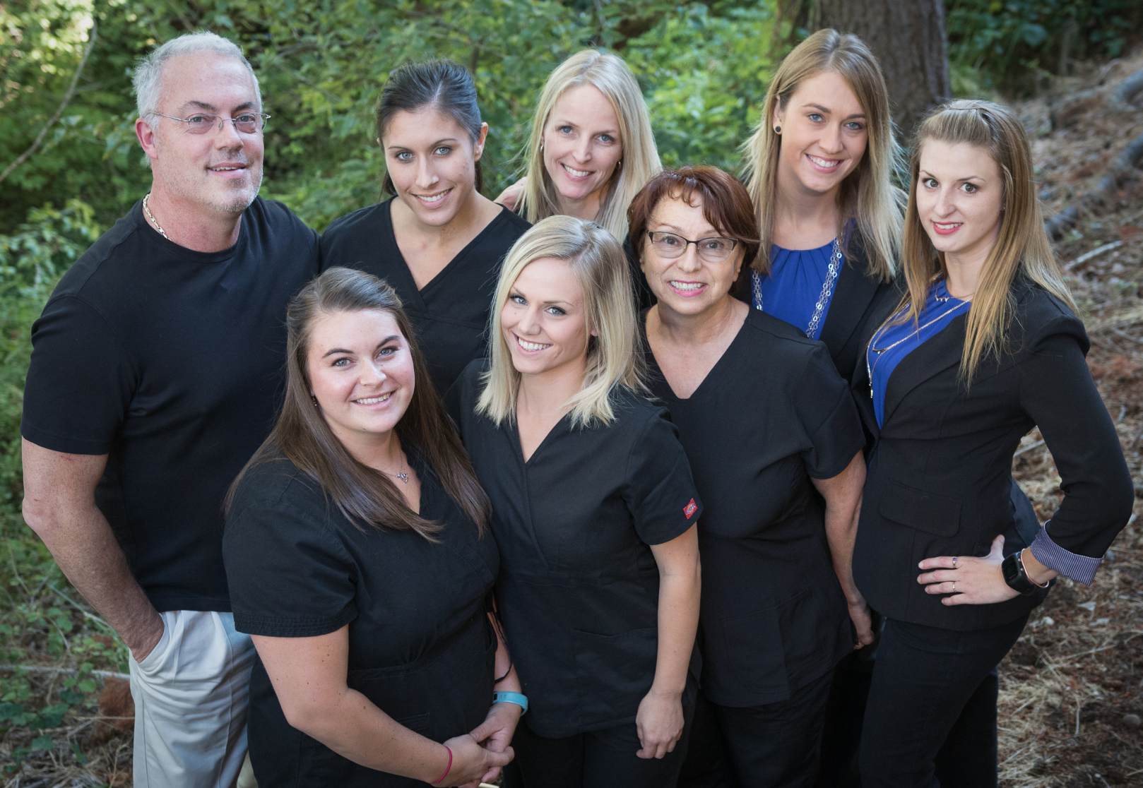 Dr. David Kavanagh and his team of dental staff
